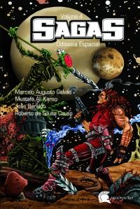 Capa Sagas 4 Odisseia Espacial