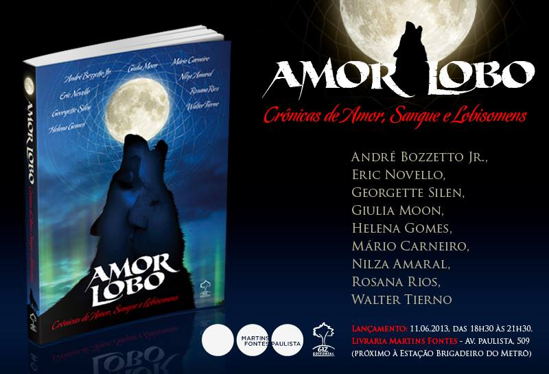amor lobo convite