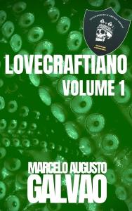 capa lovecraftiano vol 1 - premio